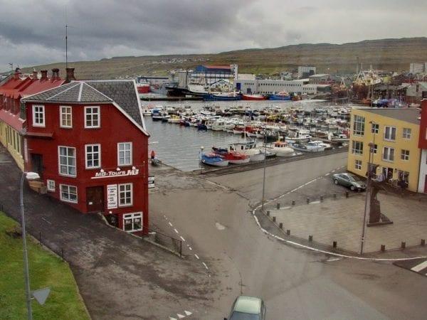 Tórshavn in the Faroe Islands