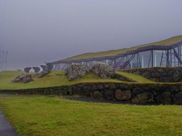 The Culture house in Tórshavn in the Faroe Islands