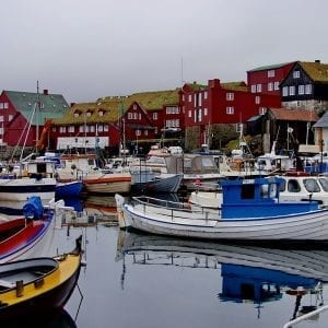 Tórshavn in the Faroe Islands
