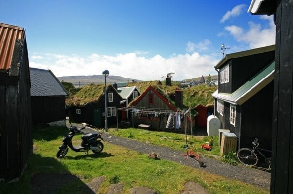 Reyni in the Faroe Islands