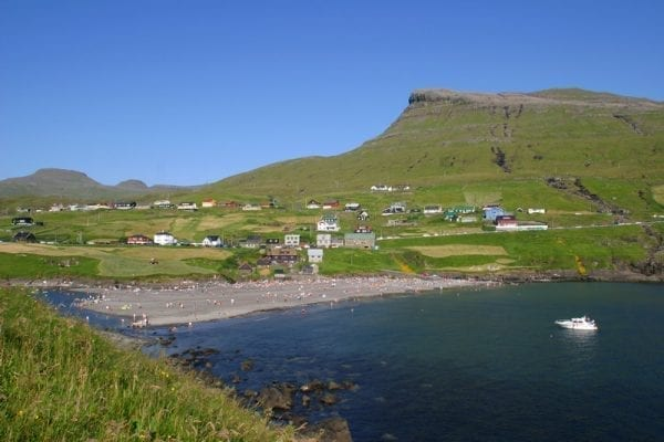 Leynar in the Faroe Islands