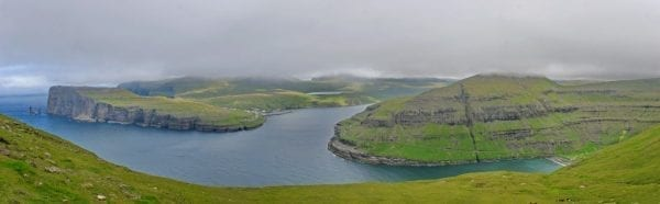 Eidi and Tjornuvik in the Faroe Islands