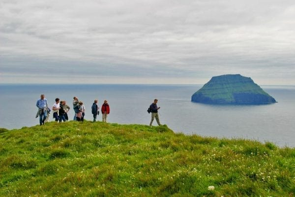 Á litla Ddimun in the Faroe Islands
