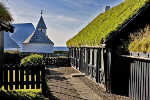 Vidareidis in the Faroe Islands