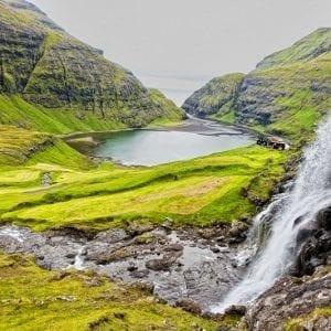 Saksun in the Faroe Islands