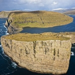 Vagoy in the Faroe Islands