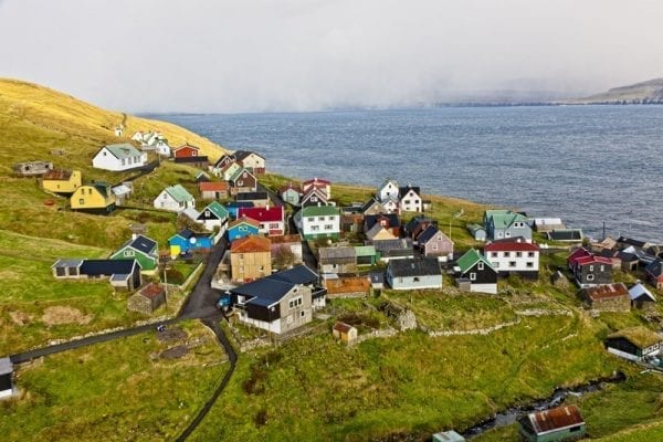 Skuvoy in the Faroe Islands