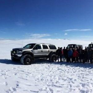Super Jeeps, Iceland, Snow