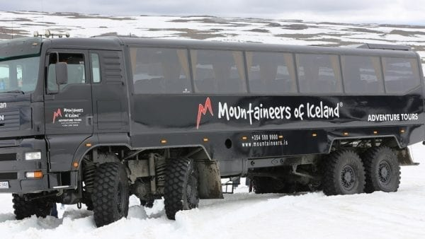 Mountain truck Iceland
