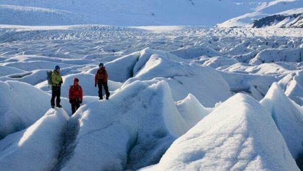 Glacier hike Vatnajökull Iceland