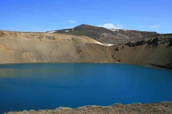 Víti Crater by Krafla Iceland