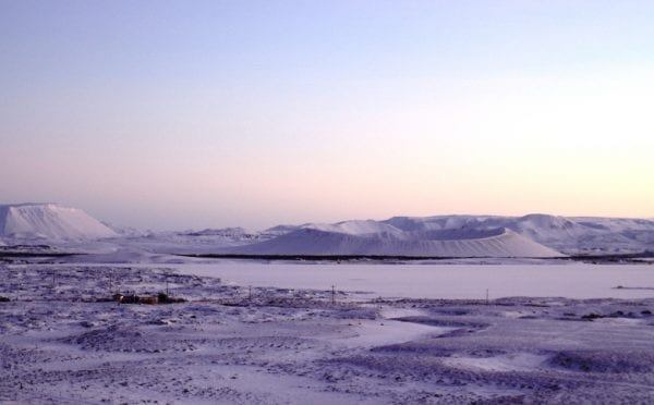 Lake Mývatn and Hverfjall North Iceland