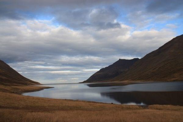 Iceland hedinsfjordur
