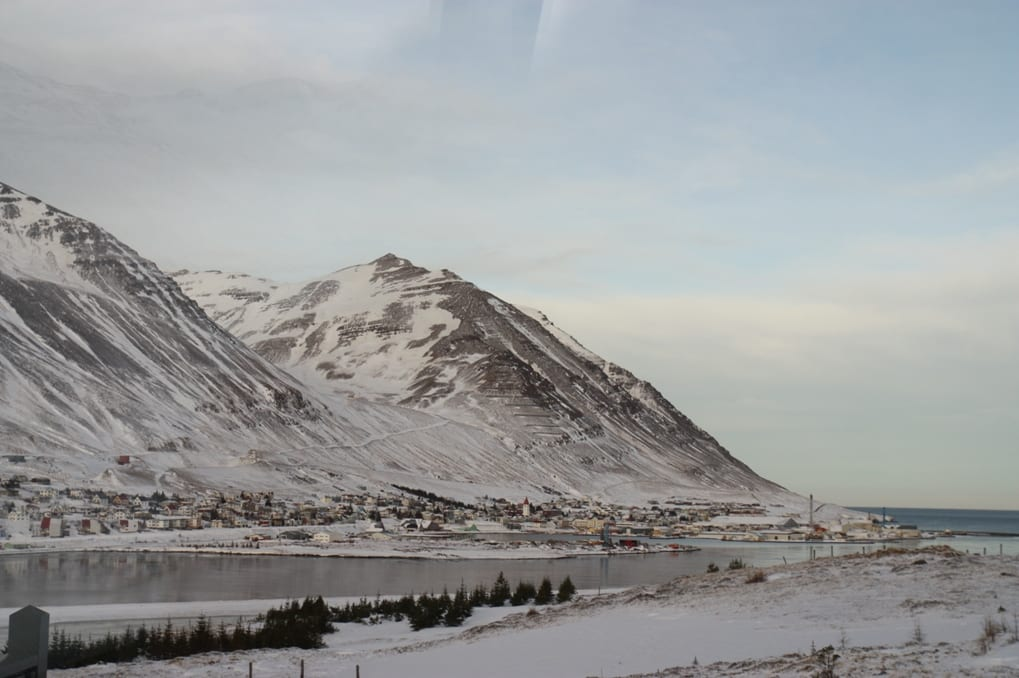 Iceland Siglufjordur winter