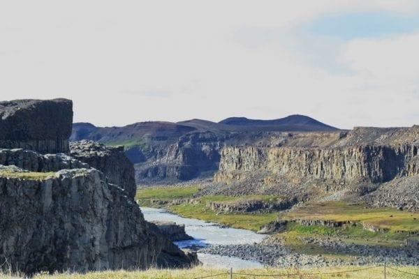 Jökulsá river North Iceland