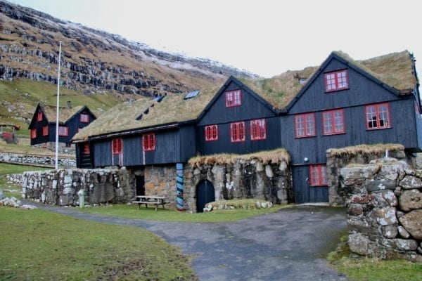 Kirkjubour in the Faroe Islands
