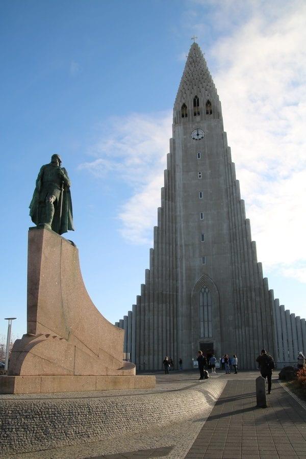 Hallgrímskirkja Church Reykjavík Iceland