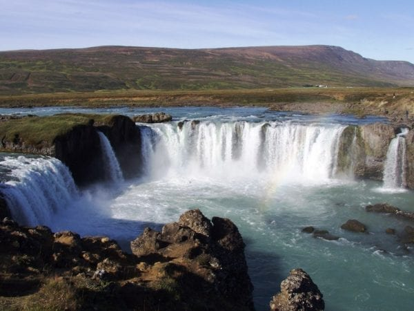 Goðafoss waterfall Iceland
