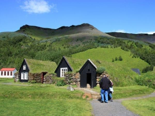 Skógar museum Iceland