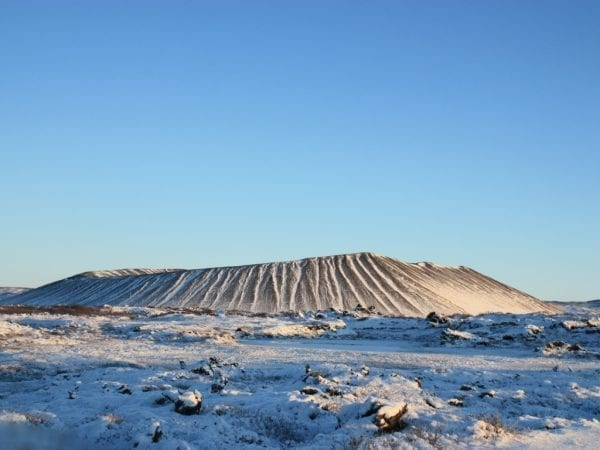 Hverfjall in North Iceland
