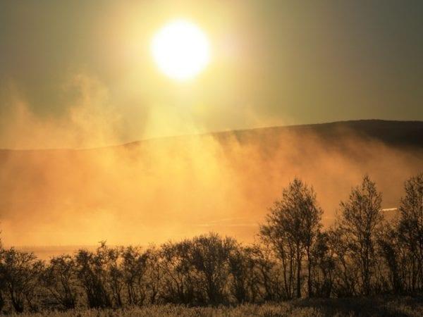 Iceland akureyri winter fnjoskad