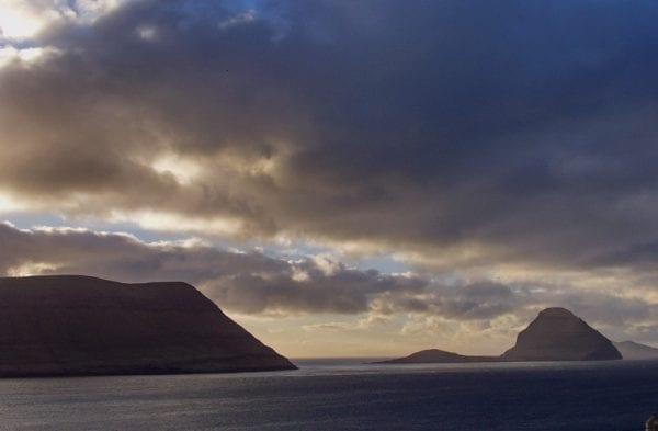 Hestur mountain in the Faroe Islands
