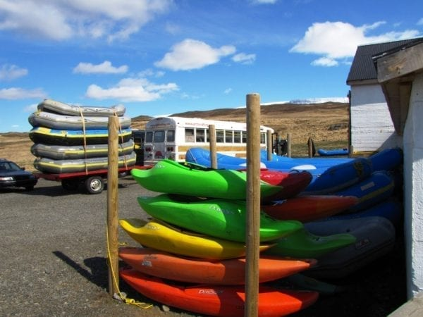 Rafting West River North Iceland