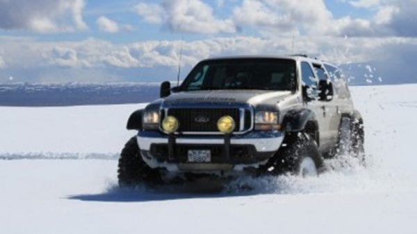 Super Jeeps, Iceland, Snow