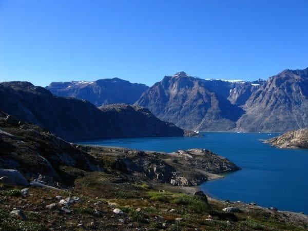 Sailing Greenland