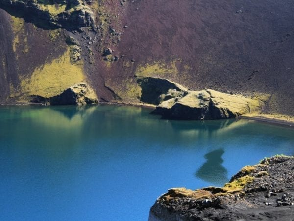 Ljótipollur crater Iceland