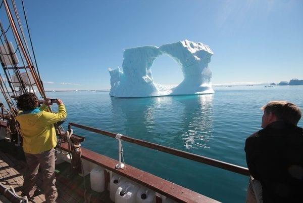 Sailing Greenland cruise