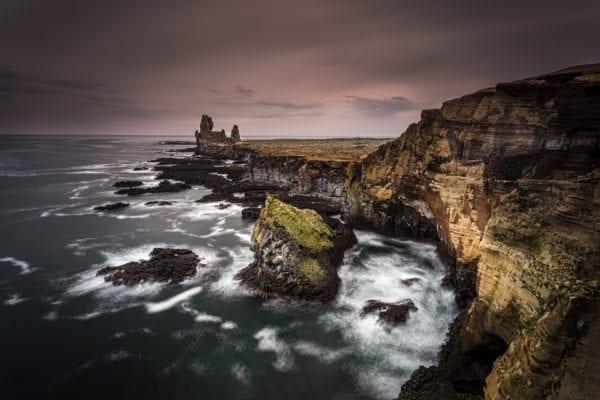 Iceland Lóndrangar