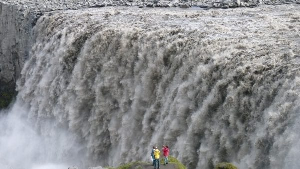 Iceland detifoss waterfall