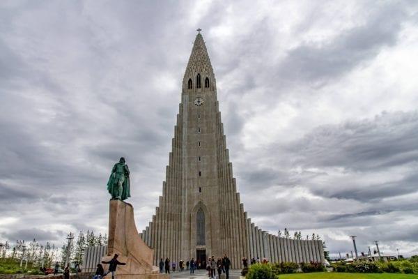 Iceland reykjavik, Hallgrímskirkja Church