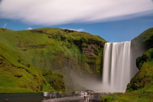 Skógafoss, Iceland waterfall