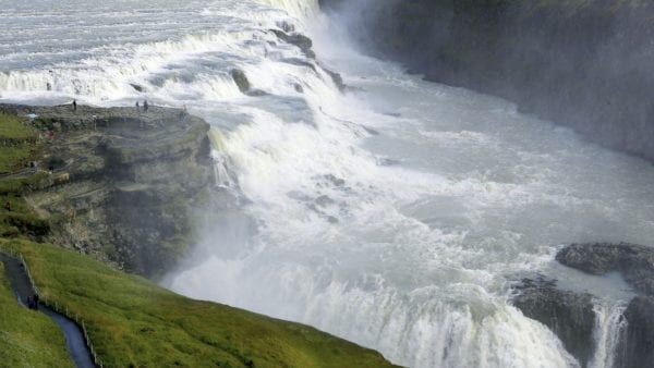 Gullfoss waterfall Iceland Golden Circle