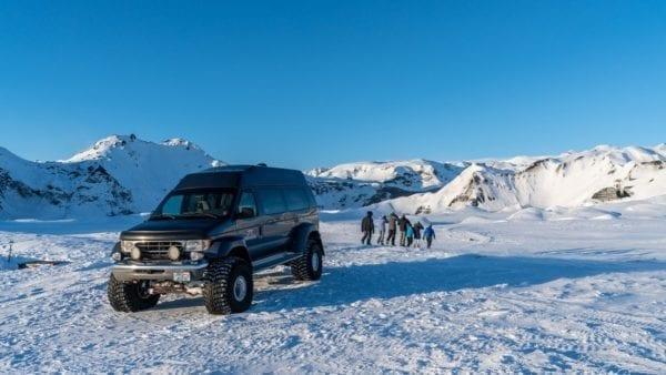 Super jeep Katla Ice Cave