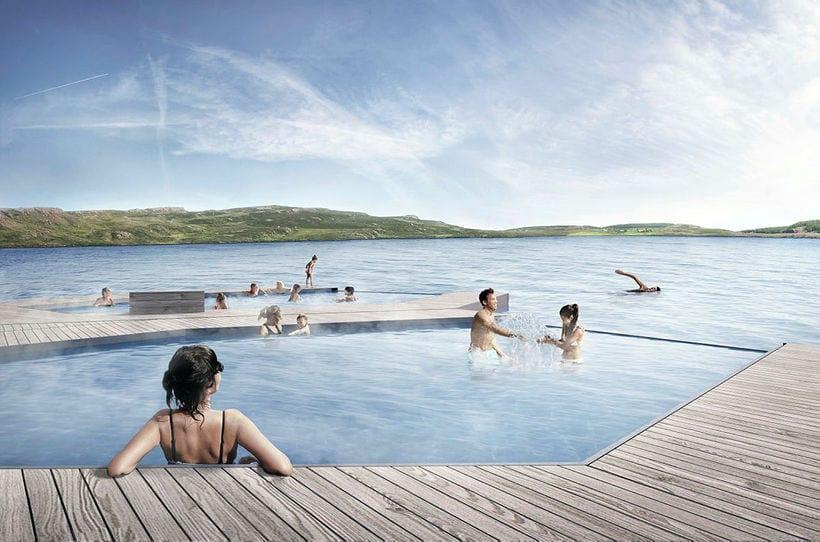 Vök geothermal baths East Iceland
