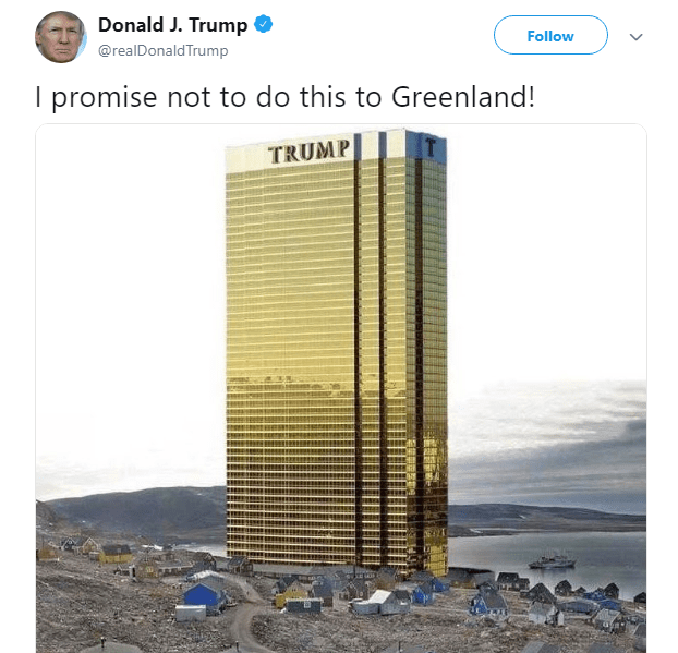 Trump tower Greenland