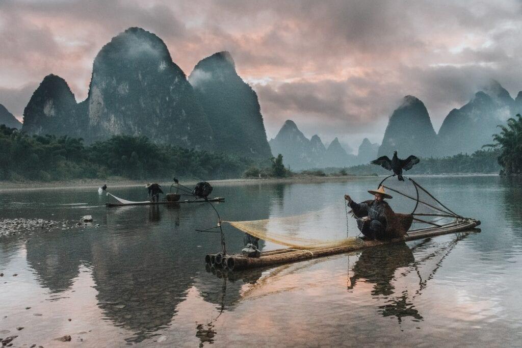 Fisherman in Yangshuo