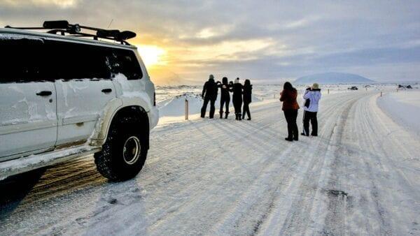 Mývatn winter tour
