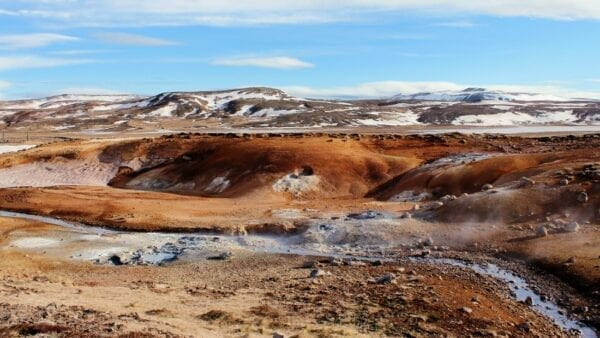 Reykjanes geothermal area