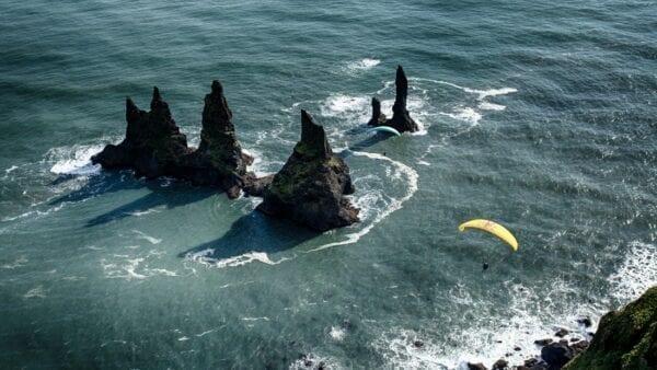 Paragliding Reynisfjara