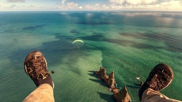 Paragliding Vik