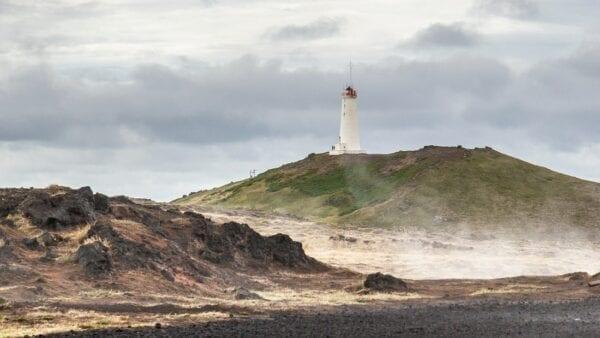 Lighthouse Reykjanes