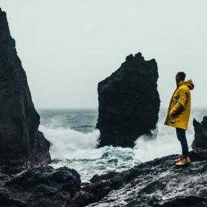 Rocky shore Reykjanes