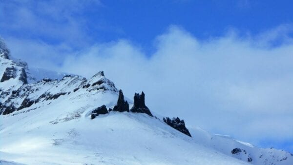 Snowmobile tour that offers great views in north Iceland