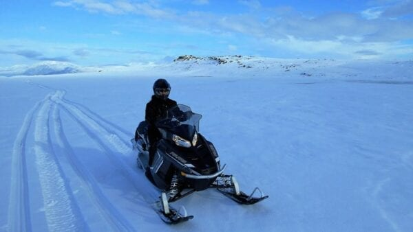 Snowmobile Akureyri tour