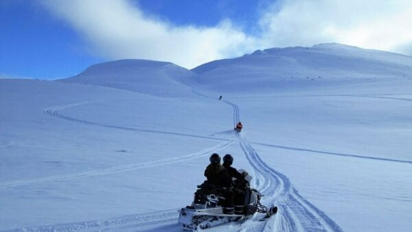 Snowmobile tour from Akureyri