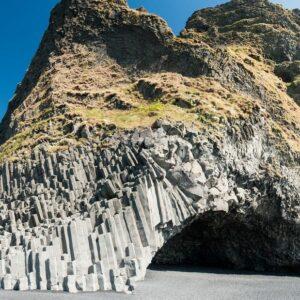 Cliffs at Reynisfjara black sand beach